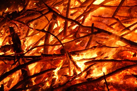 Funkenfeuer in Buchenberg